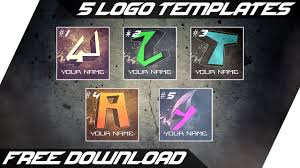 Youtube Logo Templates 5 Youtube Logo Templates Free Psd Download