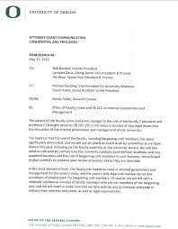 Randy Geller General Counsel Uo Matters