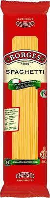 Макароны <b>Borges Spaghetti</b>, <b>500</b> г — купить в интернет-магазине ...