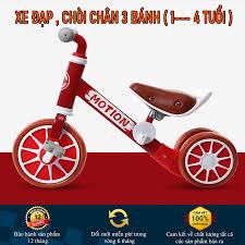 Xe cân bằng 3 bánh - xe 3 bánh chòi chân - xe đạp 3 bánh cho bé từ 2 - 4  tuổi - Sắp xếp theo liên quan sản phẩm