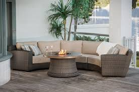 wonderful indoor outdoor sectional sanrafael outdoor curved sectional with firepit perfect