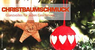 Christbaumschmuck Glanzvolles Für Jeden Geschmack