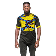 African Print Men S Shirt Designs Us 24 31 24 Off New Design Mans Africa Men Clothing Fashion African Print And Black Tops Man Dress T Shirt Dashiki Africa Style Festive Costume In
