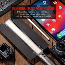 Godox Led Video Light Mobilephone Lighting Sunwayfoto Fl 152 Led Video Light Stick Adjustable Cold White And Warm White Light