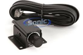 alpine rux knob remote bass level control w 5m connection cable product alpine rux knob