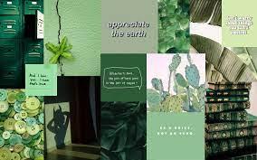 Wallpaper Green aesthetic
