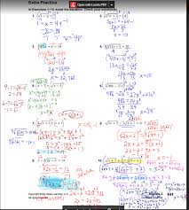solving radical equations and