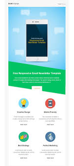 email newsletter strategy responsive email newsletter template free stuff pinterest