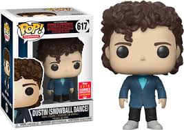 Dustin Snow Ball SDCC Stranger Things Funko Pop Vinyl New in Box + P/P |  eBay