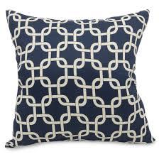 extra large throw pillows. Fine Pillows Navy Blue Links Extra Large Pillow In Throw Pillows O
