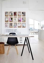 Office Clipboard Wall Decorations // 10 Creative Office Space Design Ideas