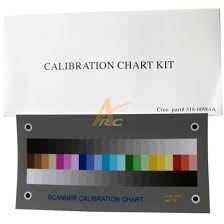 Ic 301 Ic 304 Scanner Calibration Chart Kit