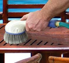 cleaning patio furniture patio furniture cleaning teak outdoor furniture with bleach