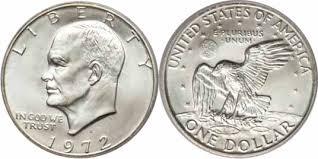 1972 Eisenhower Silver Dollar Value Chart Eisenhower Dollar Are Rare Valuable Coin Help