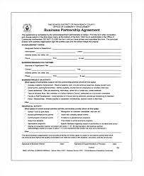 Marketing Partnership Agreement Template Lamdep Co