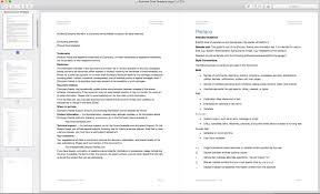 Business Case Template Apple Iwork Pages
