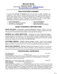 Fast Food Manager Resume Sample Dadaji Us In Perfect Resume