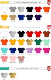 Siser Color Chart Details About Siser Color Guide 2019