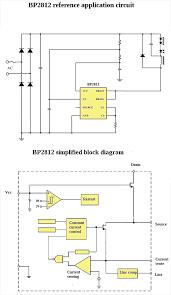 what s inside and led bulb teardown explanation bp2812 circuit block diagram