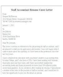 Big Four Cover Letter Senior Staff Accountant Cover Letter Cover Letter For Staff