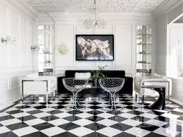 black and white diamond tile floor. View In Gallery Black And White Diamond Tile Floor A