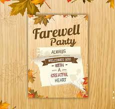 Invitation Cards For Farewell Party Invitation Card For Farewell Party To Seniors Rome