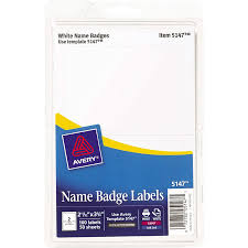 How To Print Avery Name Badges Wholesale Name Tags Badges By Avery Discounts On Ave5147