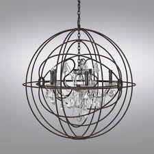 chandelier fascinating searched 3d models for restoration hardware foucault39s twin orb sphere chandelier with crystals