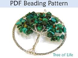 wire wrapped tree of life necklace pattern by craftsy member love larisa pattern by craftsy user simplebeadpatterns
