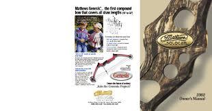 2002 Mathews Owners Manual By Mathews Inc Issuu
