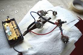 diy workshop epiphone dot renovation the guitar magazine the Epiphone Dot Wiring Harness pic 7 harness out epiphone dot wiring harness