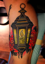 60 Outstanding Candle Lantern Tattoo Designs And Pictures Golfiancom