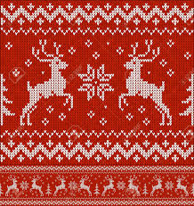 Christmas Pattern Sweater Magnificent Inspiration Design