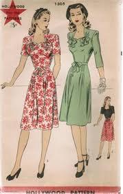 1940s Dress Patterns Awesome 48 Best Vintage 48's Dress Patterns Images On Pinterest Vintage
