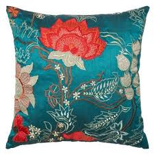red and teal pillows. Brilliant Red Intended Red And Teal Pillows