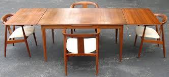 mid century modern dining table. Great Mid Century Modern Dining Room Chairs Danish Set Preben Schou Table