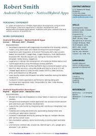 Android Resume Objective Piqqus Com