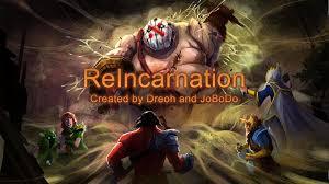 reincarnation rpg dota 2 home facebook