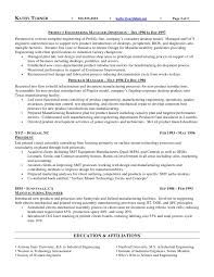 Cover Letter Sample Production Manager Resume Production Manager