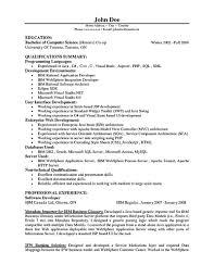 Software Engineer Resume Sample Experienced Free Resume Example