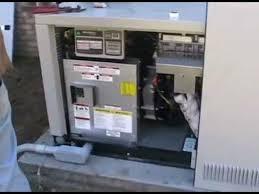 installation of a generac 22 kw generator