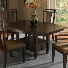 Dining Table With Storage Broyhill Furniture Northern Lights Ajustable Height Dining Table