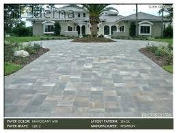 brick paver patio brick pavers paver