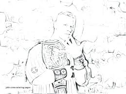 Wwe Coloring Pages Of John Cena Fresh Randy Colouring Printable Best