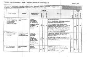 Formal Assessment Stunning CNR Risk Assessment HSE People