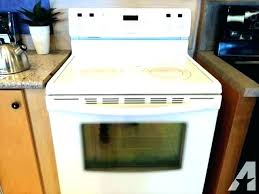 electric flat top stoves glass top electric stove burner not working flat top stove oven electric