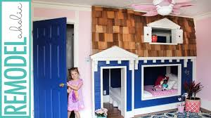 House Bunk Bed Bunk Bed Playhouse Tutorial Youtube