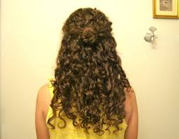 Curly Hair Style Up curly hairstyle three halfup styles youtube 4002 by wearticles.com