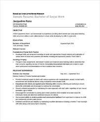 Social Worker Resume Samples Free Musiccityspiritsandcocktail Com