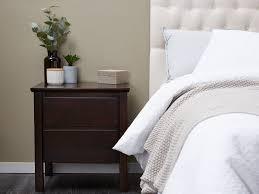 bedroom furniture bedside tables. Hardwood Bedside Tables In Brown Modern Bedroom Furniture Melbourne O